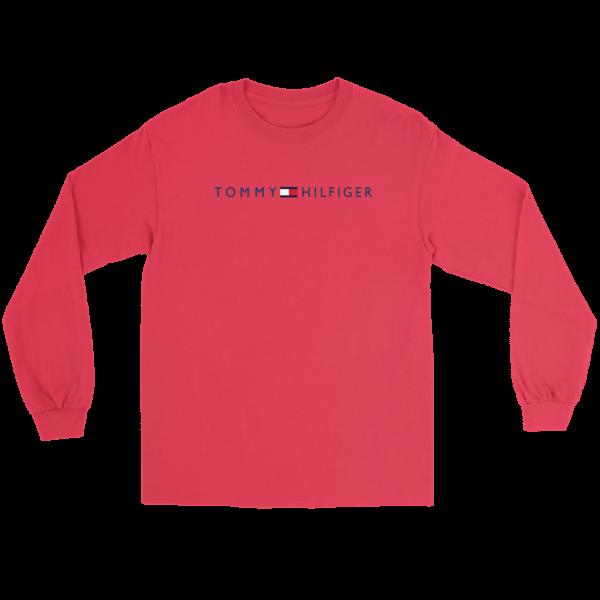 Tommy Hilfiger Logo Long Sleeve Tee