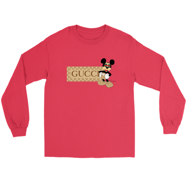 Gucci Mickey Mouse Premium Long Sleeve Tee