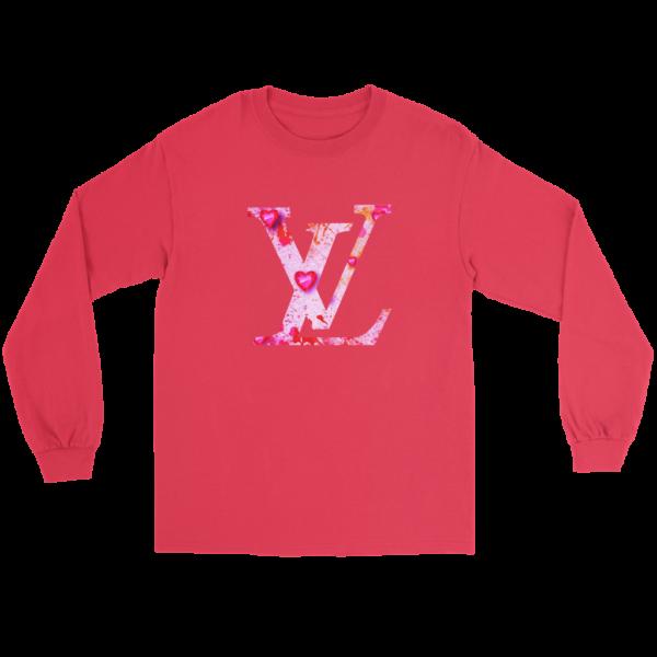 Louis Vuitton Love Logo Long Sleeve Tee