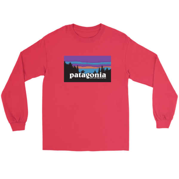 Patagonia Logo New Design Long Sleeve Tee