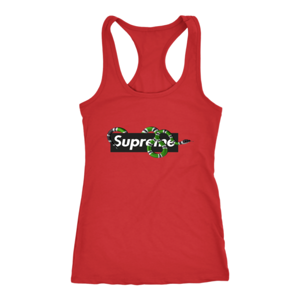 Supreme Snake Logo Limited Edition Women's Tank Top