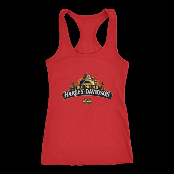 Old Pueblo Harley Davidson Women's Tank Top