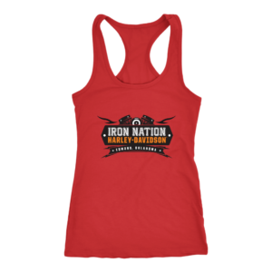 Iron Nation Harley Davidson Logo Women's Tank Top