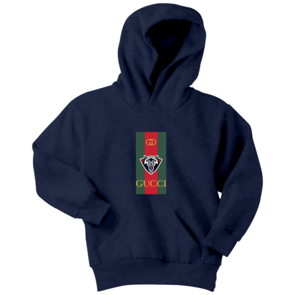 Gucci Wolf Printed Logo Limited Edition Youth Hoodie