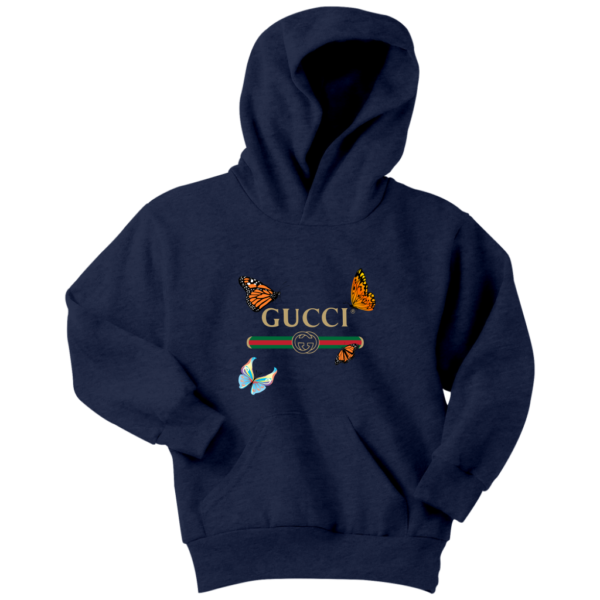 Gucci Butterfly Printed Edition Youth Hoodie