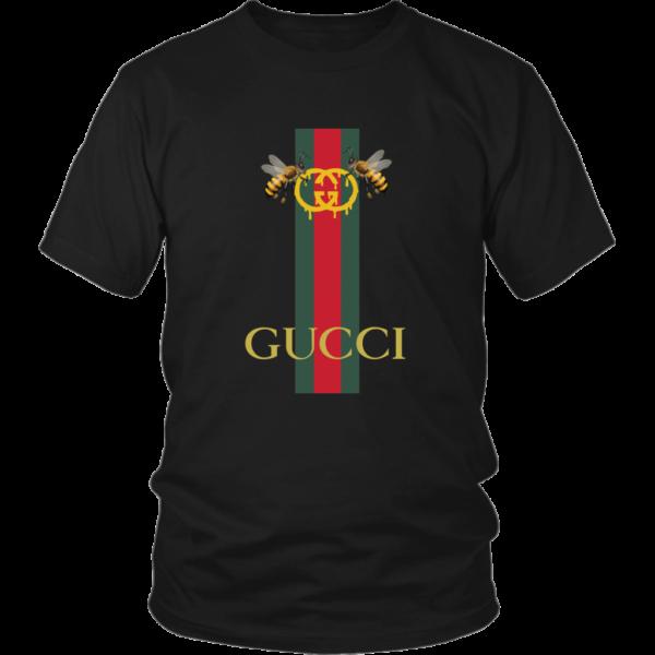 Gucci Bee Logo Drip Unisex Shirt