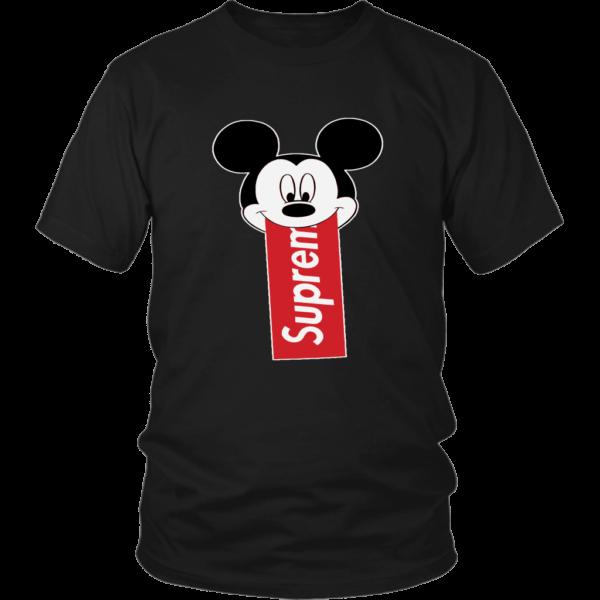 Supreme Mickey Mouse Disney Unisex Shirt