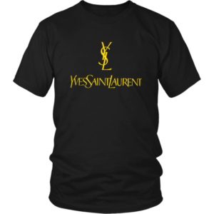 YSL Yves Saint Laurent Logo Unisex Shirt