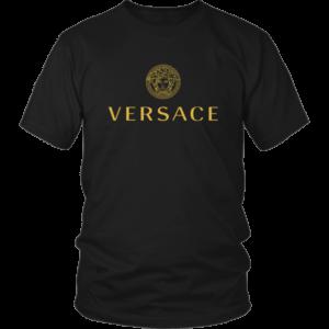Versace Gold Logo Unisex Shirt