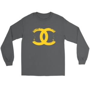 CoCo Chanel Logo Premium Long Sleeve Tee