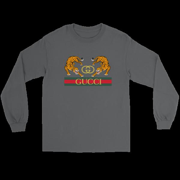 Gucci Strength Jaguar Long Sleeve Tee