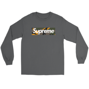 Supreme Brooklyn Logo Long Sleeve Tee