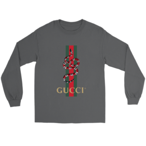 Gucci Snake Logo Long Sleeve Tee