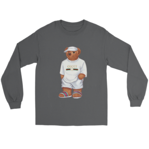 LIFE'S GUCCI BEAR Long Sleeve Tee