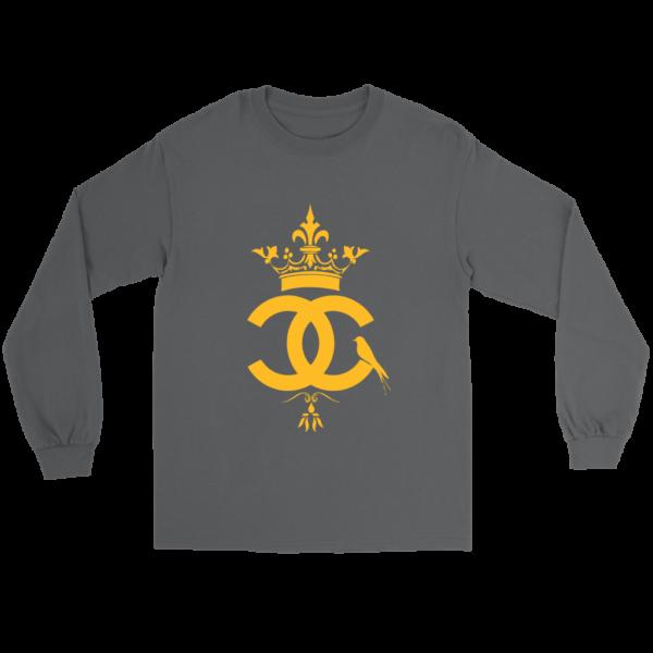 Coco Chanel Logo Premium Long Sleeve Tee