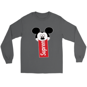 Supreme Mickey Mouse Disney Long Sleeve Tee