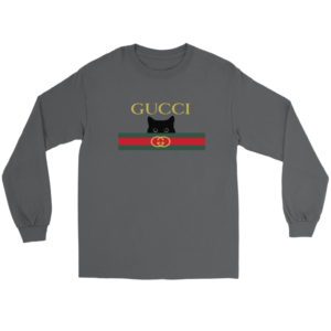 Gucci Black Cat Secret Logo Long Sleeve Tee