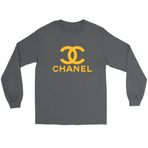 CoCo Chanel Logo Long Sleeve Tee