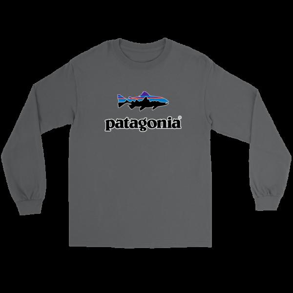 Patagonia Fish Logo Long Sleeve Tee