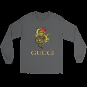 Gucci Dragon  Editon Long Sleeve Tee