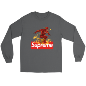 Supreme The FLASH Long Sleeve Tee
