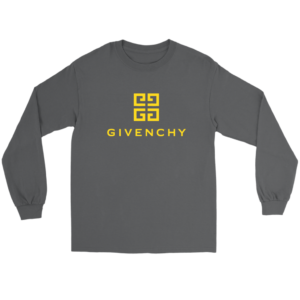 Givenchy Gold Logo Premium Long Sleeve Tee