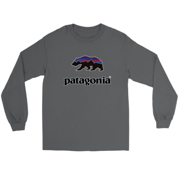 Patagonia Fitz Roy Bear Long Sleeve Tee