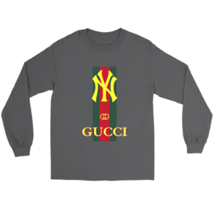 Gucci New York Yankees Long Sleeve Tee