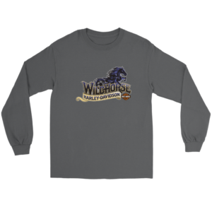 Wildhorse Harley Davidson Logo Long Sleeve Tee