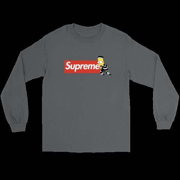 Bart Simpson Supreme Long Sleeve Tee