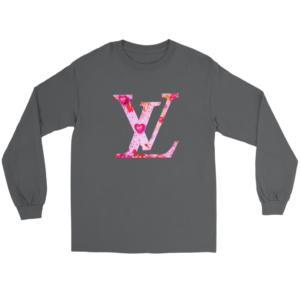 Louis Vuitton Love Logo Long Sleeve Tee