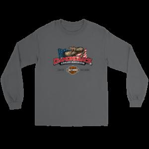 Harley Davidson Logo Premium Long Sleeve Tee