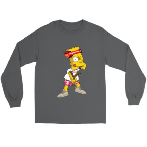 Bart Simpson Gucci Supreme Long Sleeve Tee