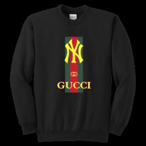 Gucci New York Yankees Youth Crewneck Sweatshirt