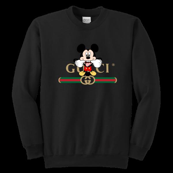 Gucci Logo Mickey Mouse Clubhouse Disney Youth Crewneck Sweatshirt