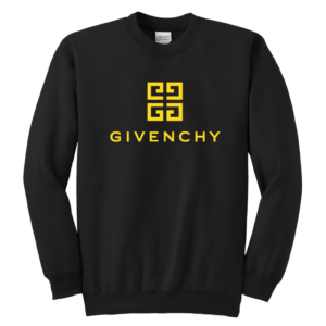 Givenchy Gold Logo Premium Youth Crewneck Sweatshirt