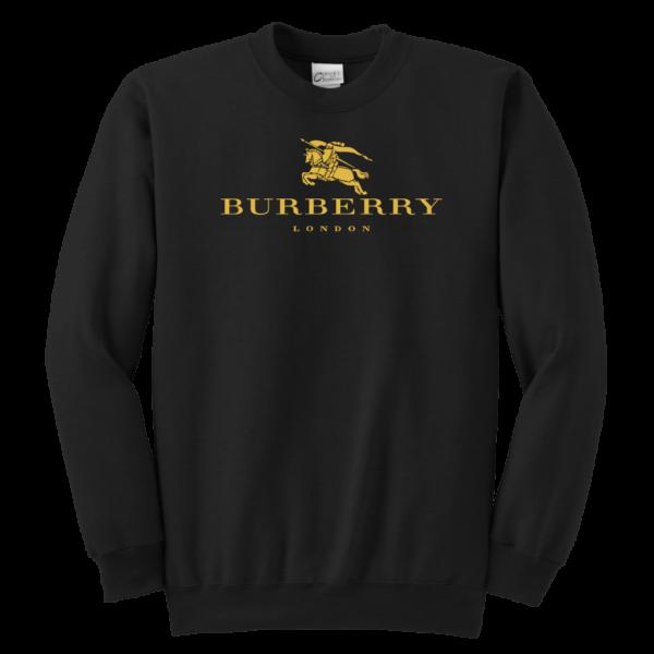 Burberry Gold Edition Logo Youth Crewneck Sweatshirt