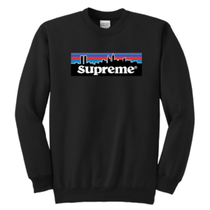 Supreme Patagonia Logo Youth Crewneck Sweatshirt