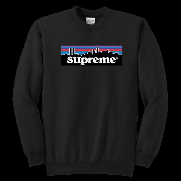 Supreme Patagonia Logo Youth Crewneck Sweatshirt