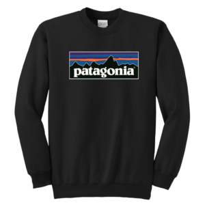 Patagonia Logo Youth Crewneck Sweatshirt