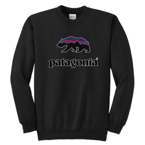 Patagonia Fitz Roy Bear Youth Crewneck Sweatshirt