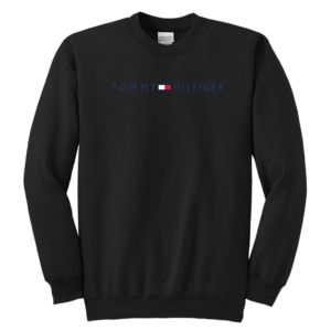 Tommy Hilfiger Logo Youth Crewneck Sweatshirt