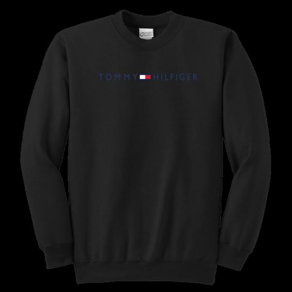 Tommy Hilfiger Logo Youth Crewneck Sweatshirt