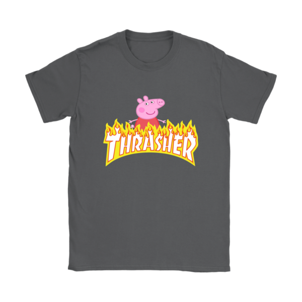 Peppa Pig Thrasher Premium Womens T-Shirt