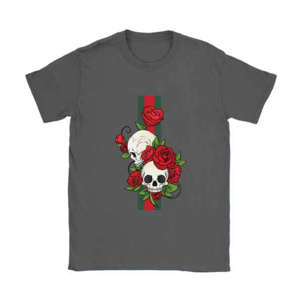 Roses Of Gucci Skull Premium Womens T-Shirt
