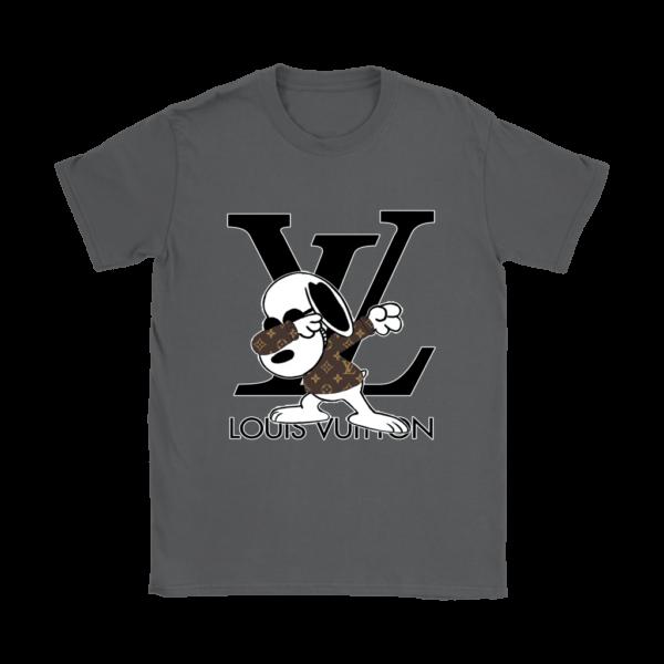 Snoopy Louis Vuitton Logo Womens T-Shirt