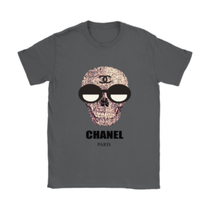 Chanel Skull Logo Womens T-Shirt