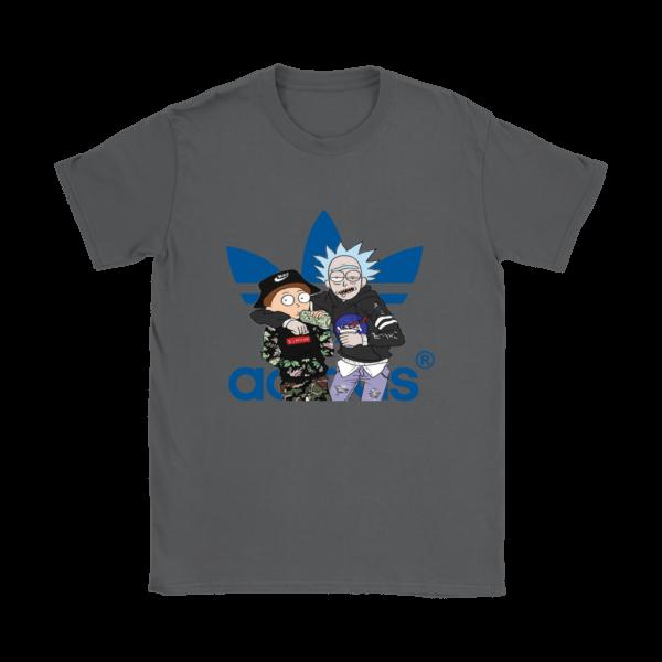 Rick And Morty Adidas Fashion Womens T-Shirt