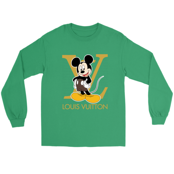 Louis Vuitton Mickey Mouse Long Sleeve Tee