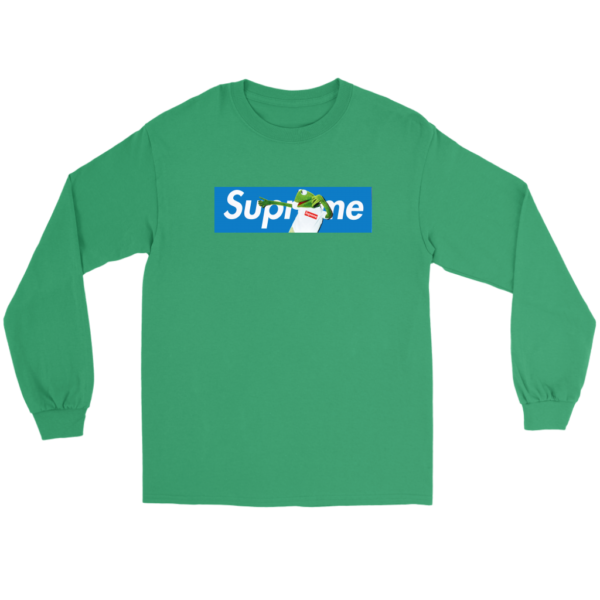 Supreme x Kermit The Frog Limited Long Sleeve Tee
